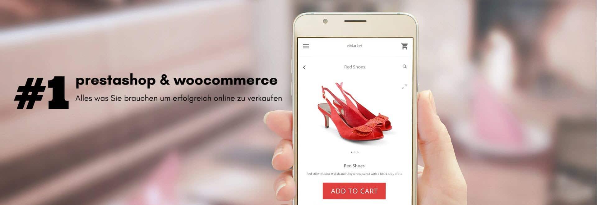 perfekter online-shop mit Prestashop und Woocommerce