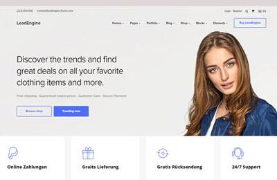 Zusatzleistungen online-shops