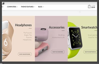 übersichtliche Produktstruktur online-shop