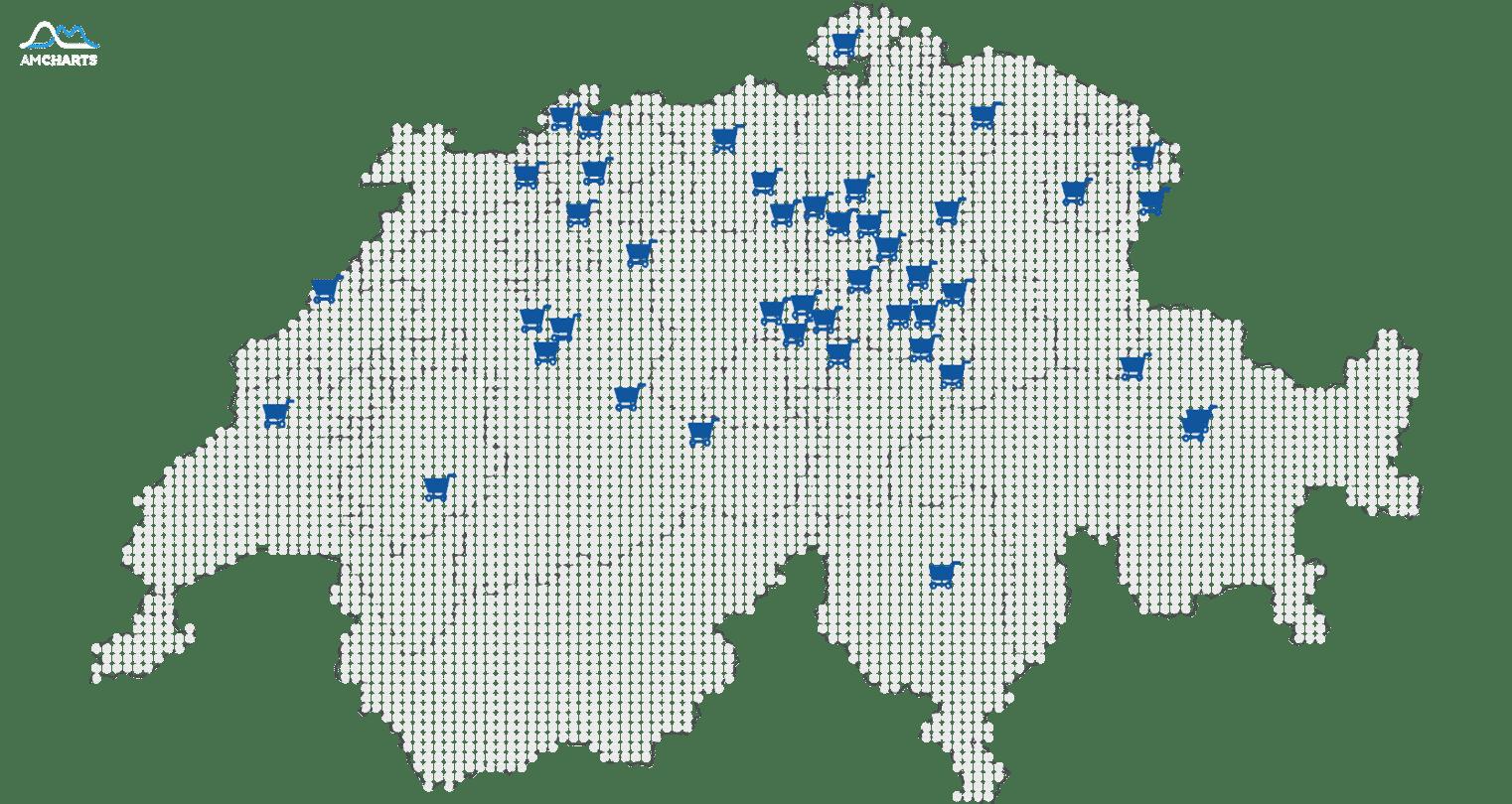 CH map eshop-itsolutions online-shops live by pixelmap amcharts.com